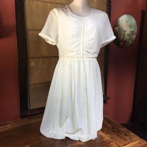 Burberry Brit Silk/Cotton Dress Size 10 - NWT